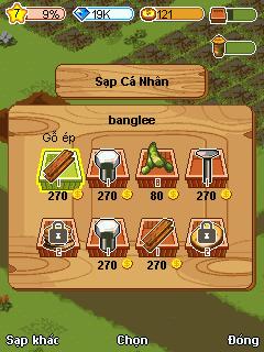 Tải game Thần Nông cho Java
