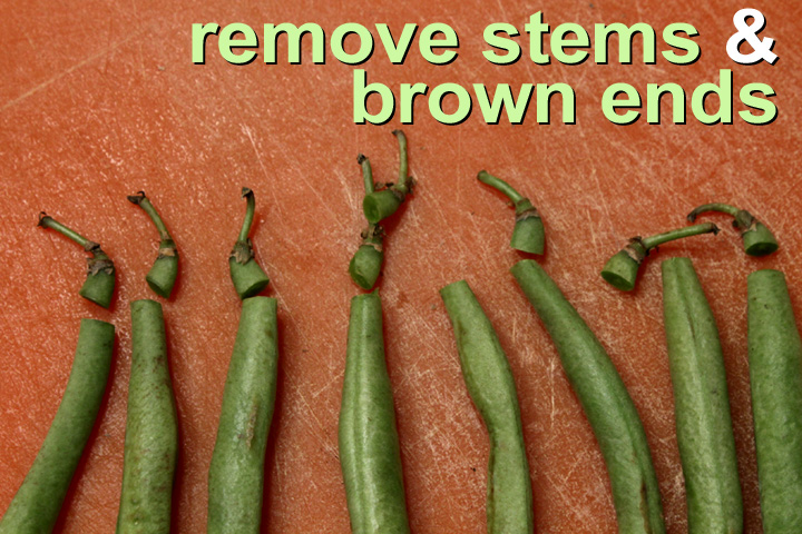how to french cut green beans video