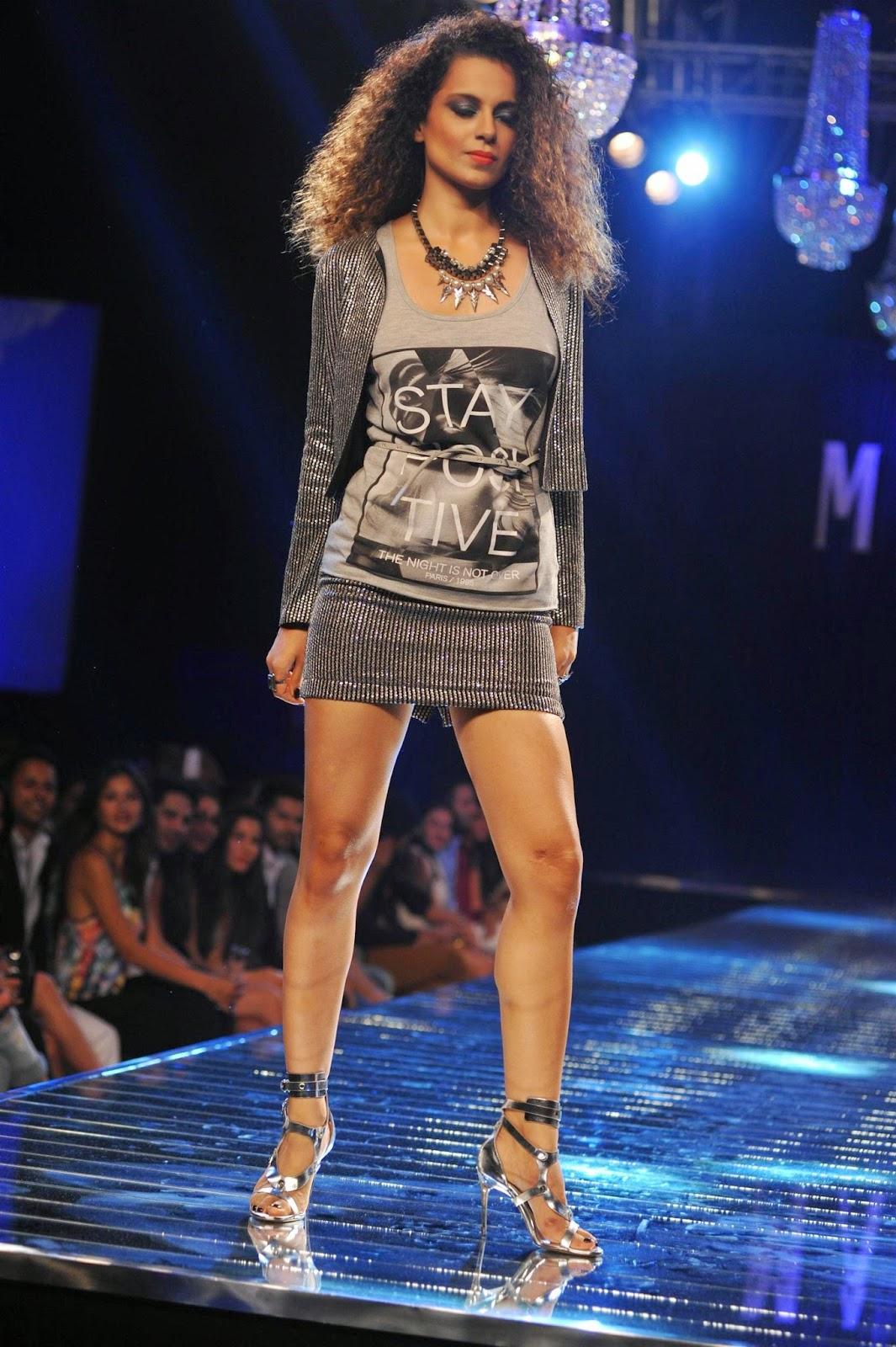 Kangana Ranaut Ramp Walk at Vero Moda Marquee Collection Launch