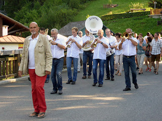 Roedelius et le Liunze Brass / photo S. Mazars