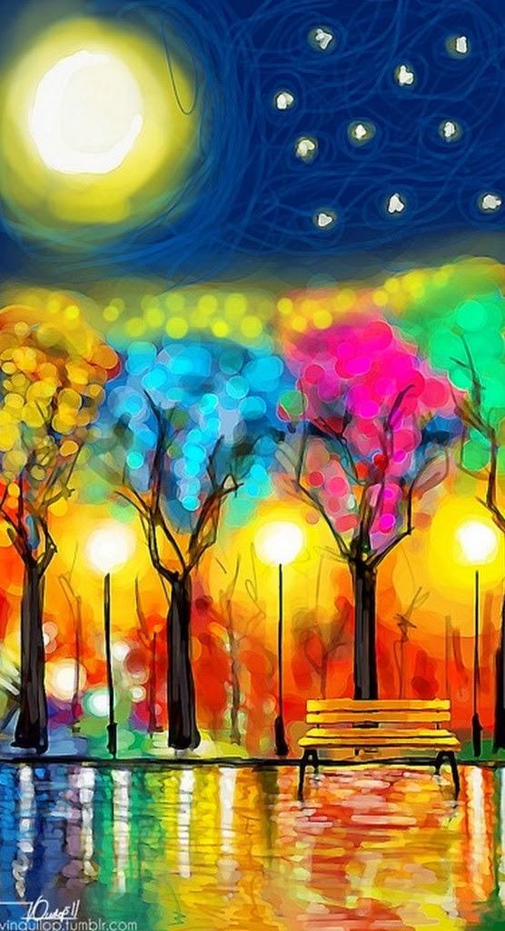 Cuadros modernos pinturas y dibujos 30 cuadros tr pticos - Ver colores de pintura ...