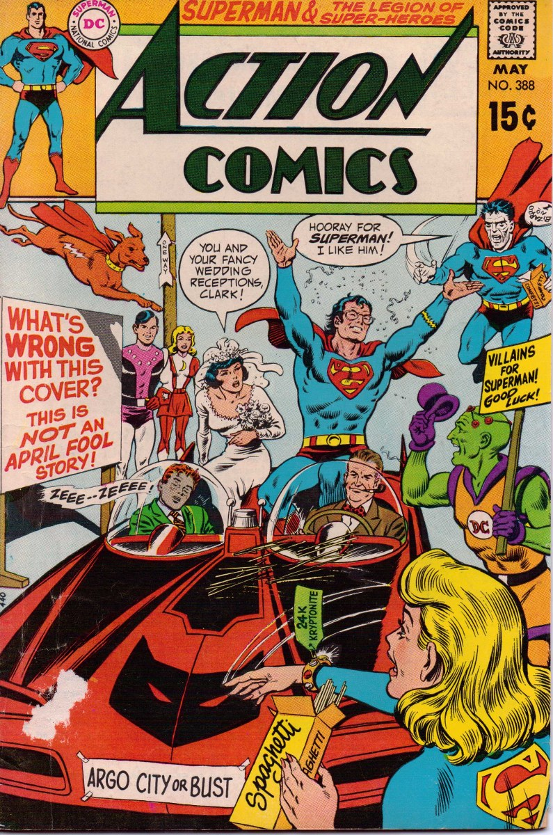 Spinner-Rack Memories: Action Comics #388 (May 1970)