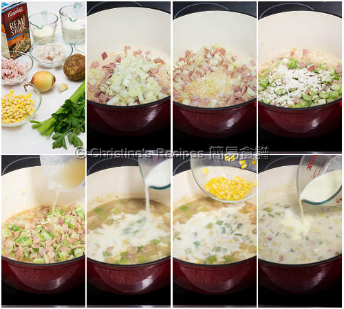 Fish Chowder Soup Procedures