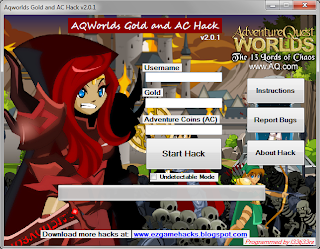 Adventure Quest Worlds INFORMASI: AQWorlds Gold and AC Hack v2.0.1320