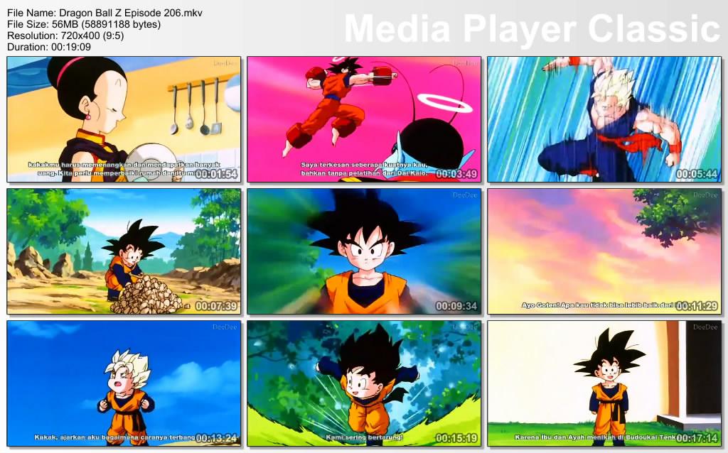 Download Film / Anime Dragon Ball Z Majin Buu Saga Episode 206 Bahasa