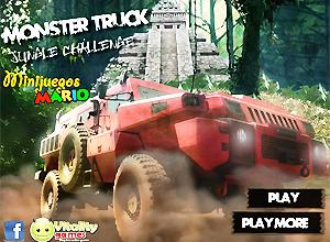 Monster Truck Jungle Challenge