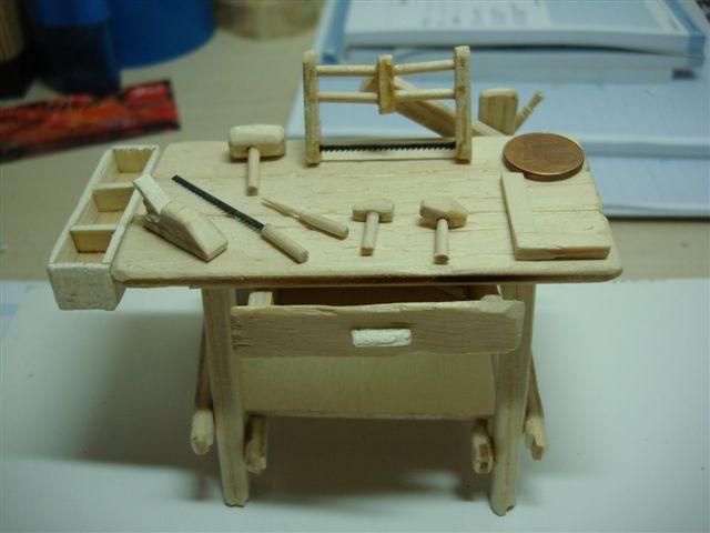 T cnicas para crear belenes nacimientos misterios 01 07 12 for Mesa de carpintero