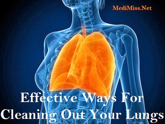how to clear your lungs naturally
