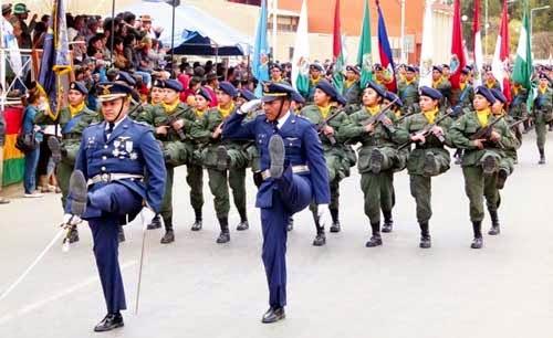 Fuerzas Armadas reafirman deber de defensa de la Patria