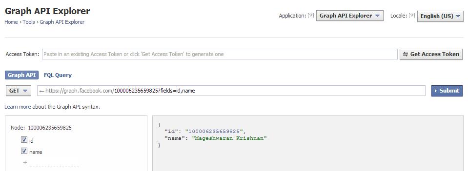 how to get access token facebook graph api php