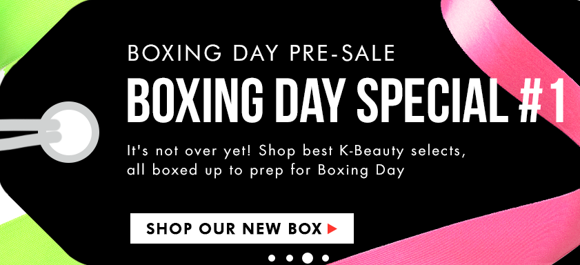 Memebox Boxing Day #1 Box