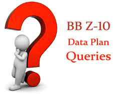 BBZ10 Data Plan Queries