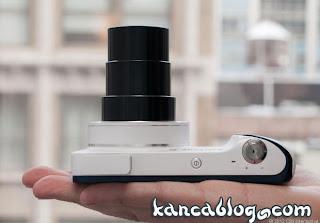 Samsung Galaxy Kamera Görünümü