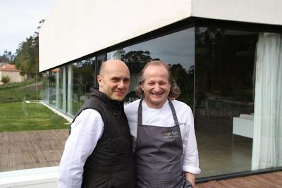 Esteban Capdevila y Xosé Torres en Rte. Pepe Vieira. Blog Esteban Capdevila