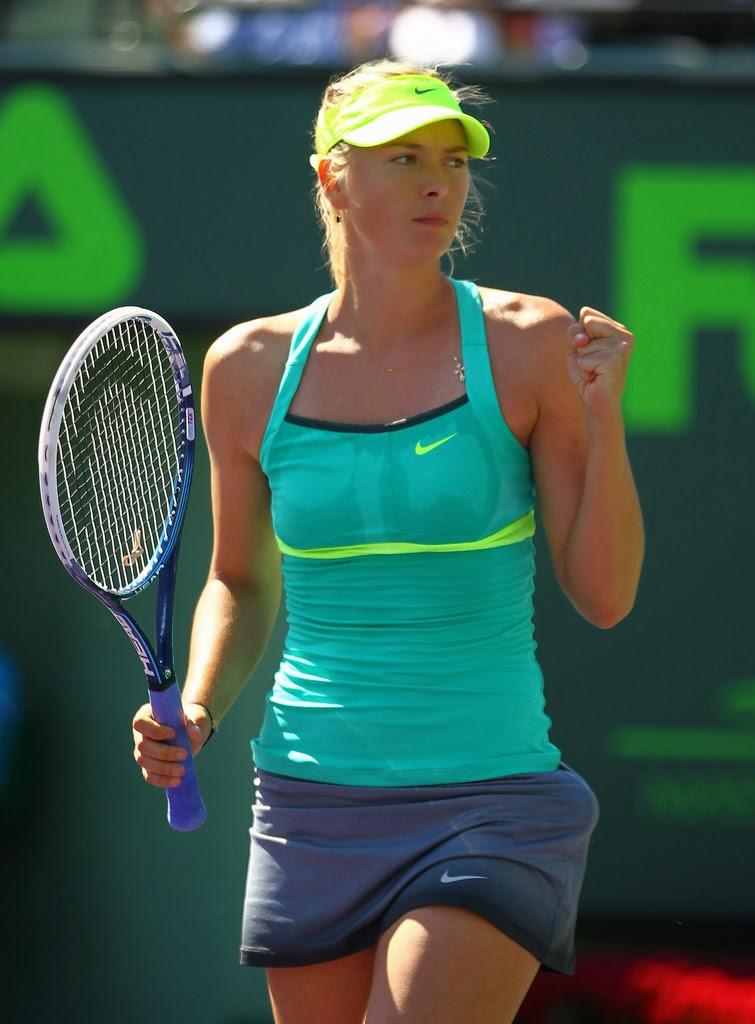 Speaking, Maria sharapova tennis