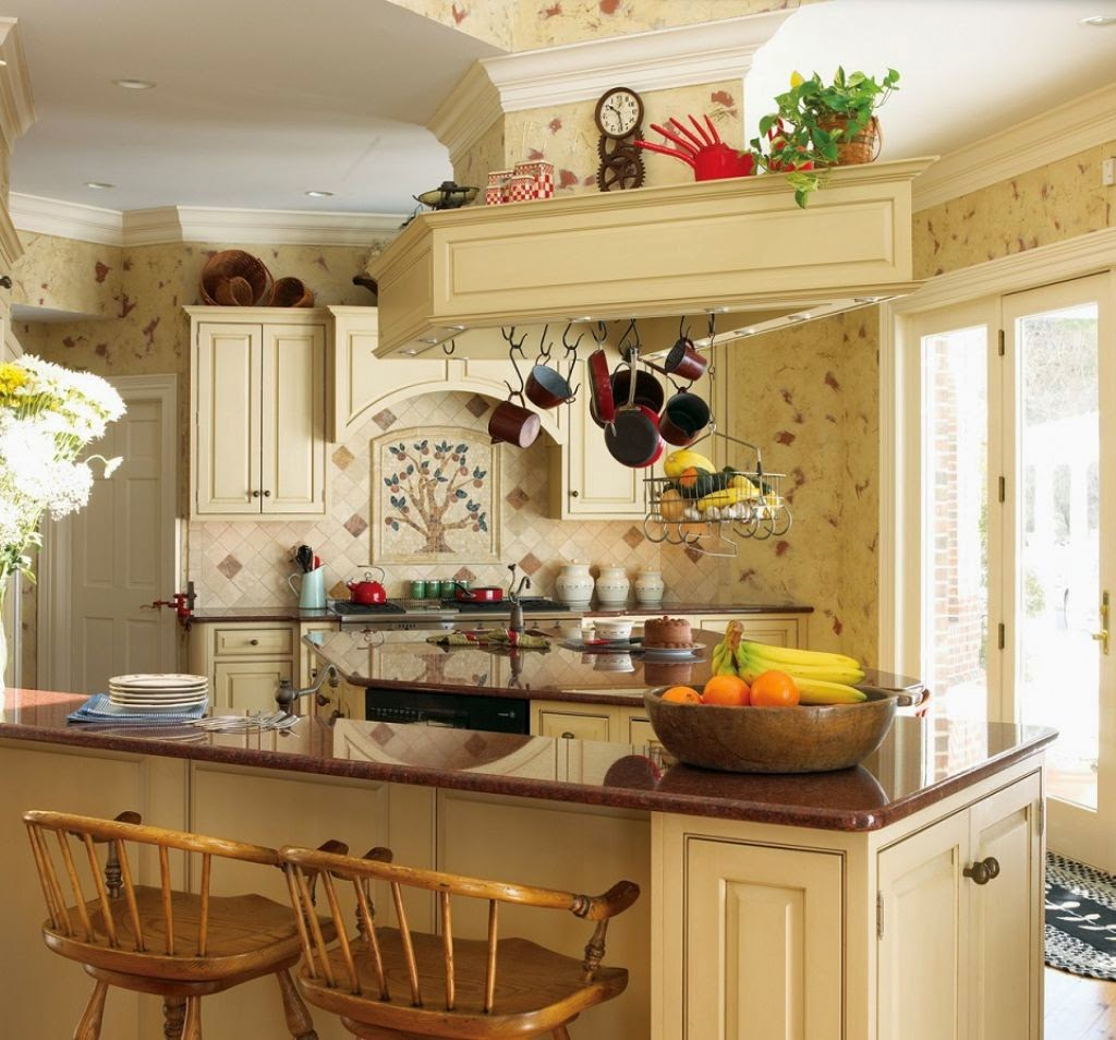 French country kitchen wall decor instant knowledge for French country kitchen designs photos