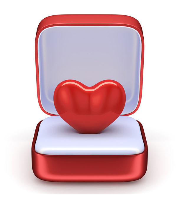 Ring Box Heart