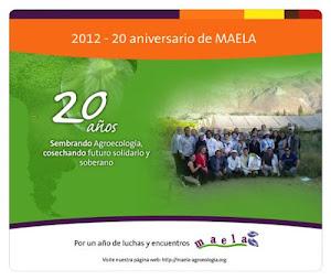 20 Aniversario de MAELA