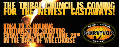 Survivor, Pittsburgh, Rivers Casino, Casting Call