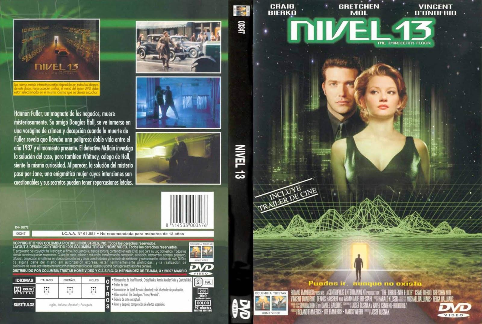 Nivel 13 1999 descargar y ver online for 13th floor dvd