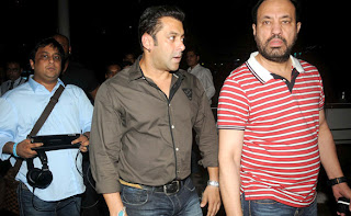 Salman Khan snapped at Domestic Airport
