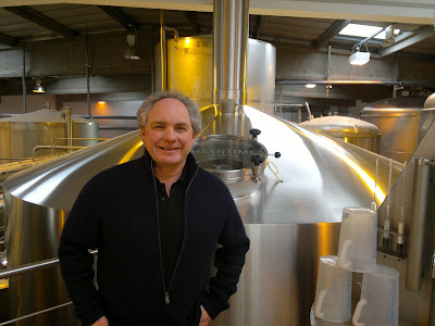 Alastair Hook at Meantime Brewery, Greenwich