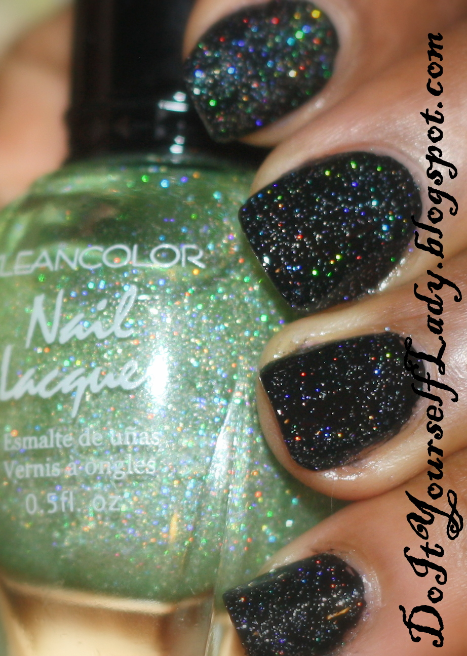 The Do It Yourself Lady: Kleancolor - Holo Green