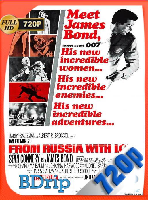 007 De Rusia Con Amor (1963) BDRip [720p] [Latino] [GoogleDrive] [RangerRojo]