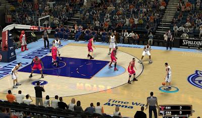 NBA 2K13 Charlotte Bobcats Court Fix Patch