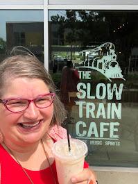 2020, Slow Train Cafe, Iced London Fog, Oberlin OH