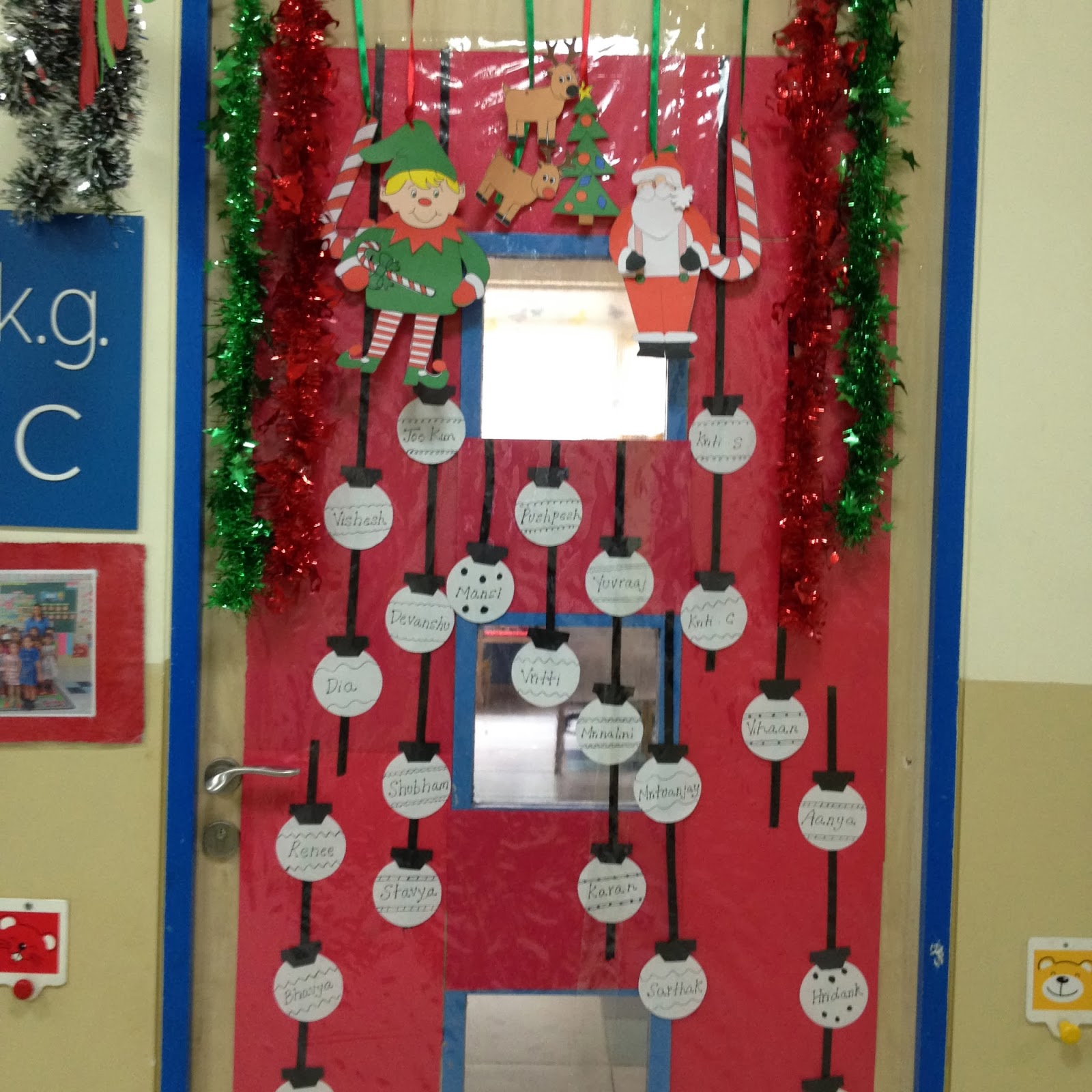 Class Christmas Decorations