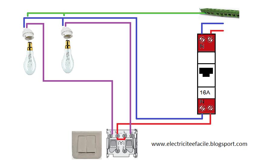 Populaire Schémas électriques: schéma électrique double allumage KH01