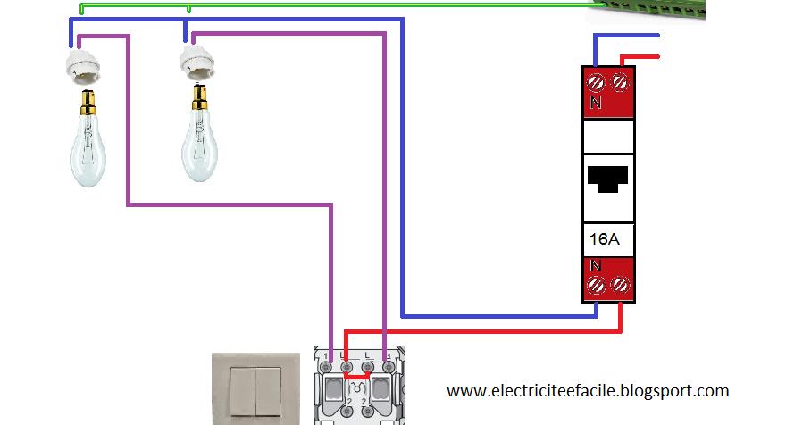 Sch mas lectriques sch ma lectrique double allumage - Schema electrique refrigerateur no frost ...