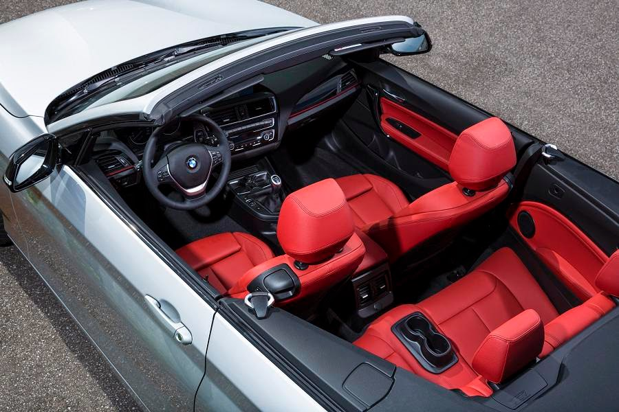 BMW 2 Series Convertible Sport (2015) Interior