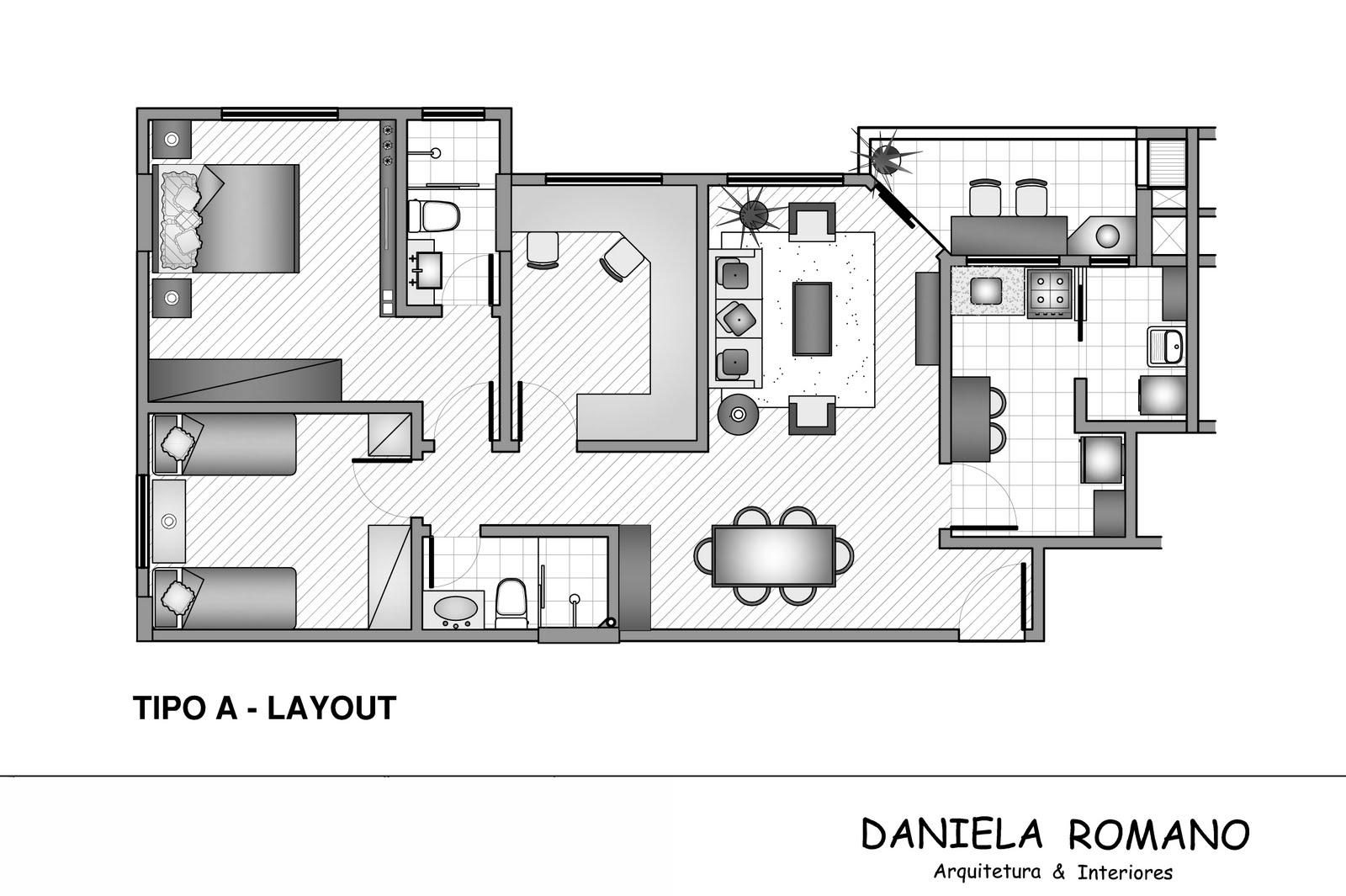 #3B3B3B MARIANA PROJETISTA: Portifólio #08: DANIELA ROMANO 1600x1065 px Projeto De Arquitetura De Cozinha Industrial #2759 imagens