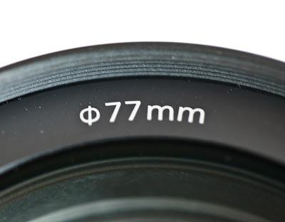 Ø Symbol on Camera Lens