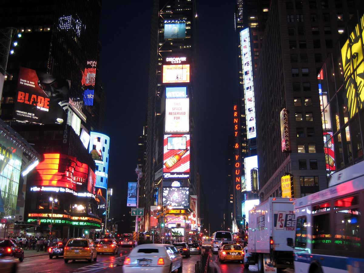 What to do in new york city times square