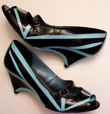 day 7 revamp your shoes. Black Bedroom Furniture Sets. Home Design Ideas
