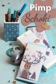 Freebie Schokoladen-Verpackung