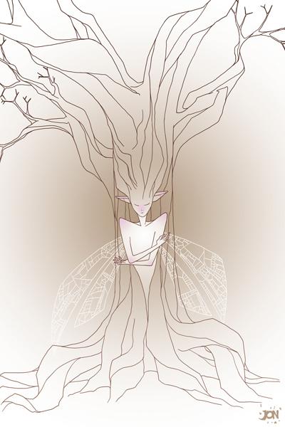 dessinateur illustrateur animateur bande dessinee croquis illustration crayonne animation artist illustrator animator comic book sketch sketches jonathan jon lankry animated tree wings