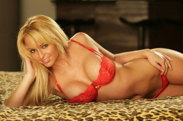 Heather Rene Smith in Lingerie