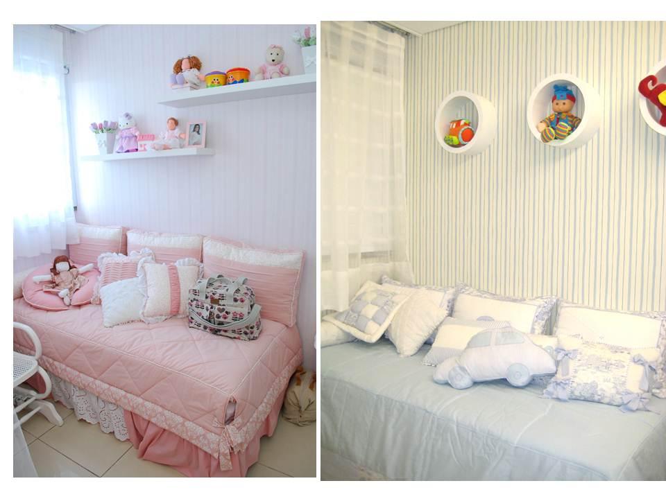 quarto de bebe decorado com papel parede feminino quarto  ~ Quartos Decorados Com Papel De Parede Bebe