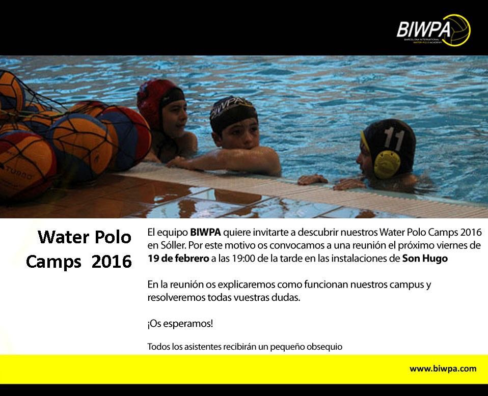 Water Polo Camps 2016