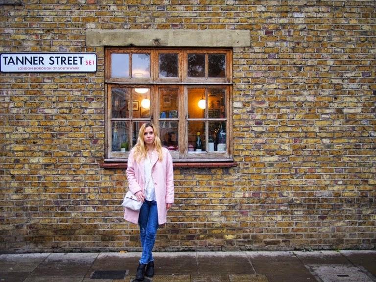 pink coat london