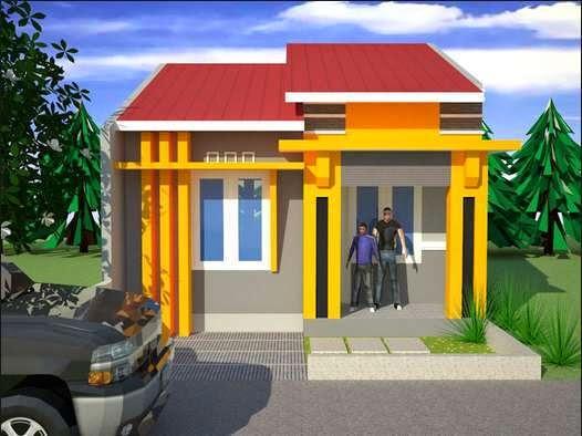 model rumah minimalis sederhana 9