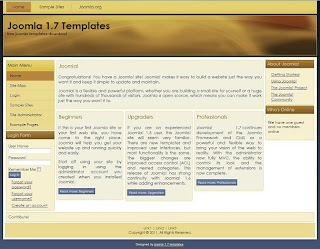 business joomla 1.7 templates