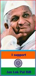 I Support Jan Lok Pal Bill