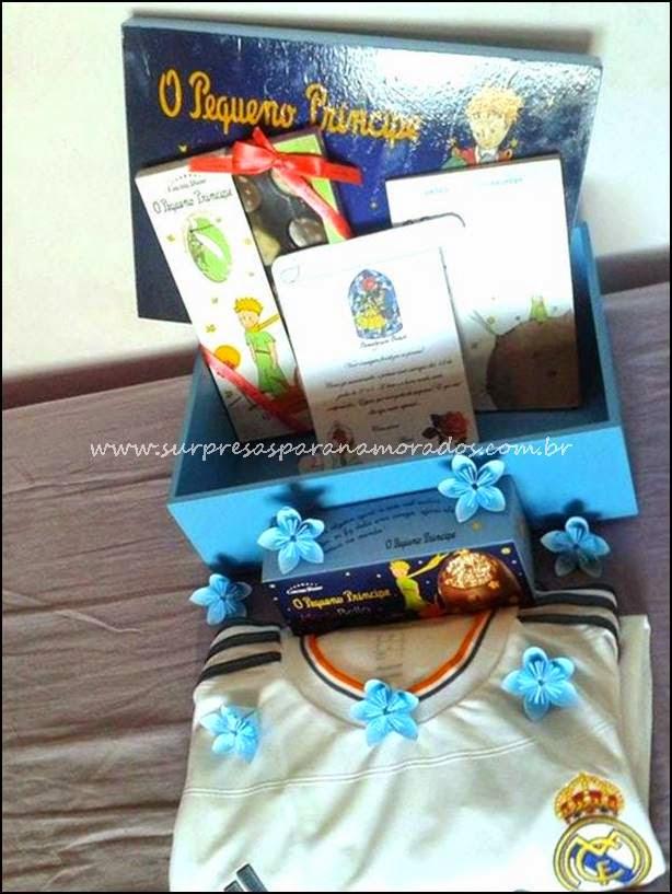 caixa presente para namorado