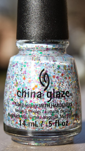 China glaze its a trapeze nail polish, China glaze it's a trap-eze!