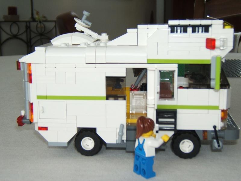 le camping car passe partout lego exemples de mod le de. Black Bedroom Furniture Sets. Home Design Ideas